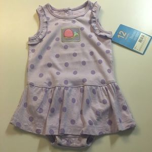 🐢Carter's🐢NWT SIZE 12 MONTHS ONE PC SLEEVELESS